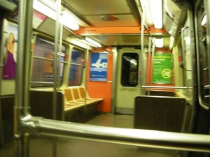 Empty Path Train