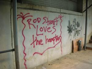 Rod Stuart Loves the Hamptons
