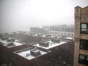 Weekend NYC Snow