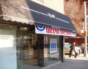 New Dry Cleaner on 20th and 3rd