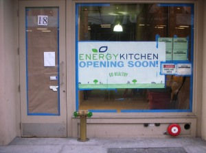 Energy Kitchen Coming To Flatiron