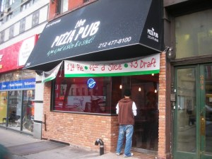 The Pizza Pub on 3rd Ave.