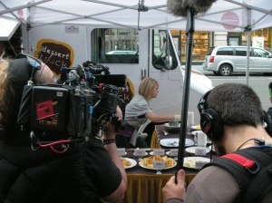 Lights, Camera, Cook!