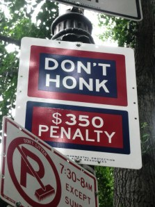 Don't Honk!