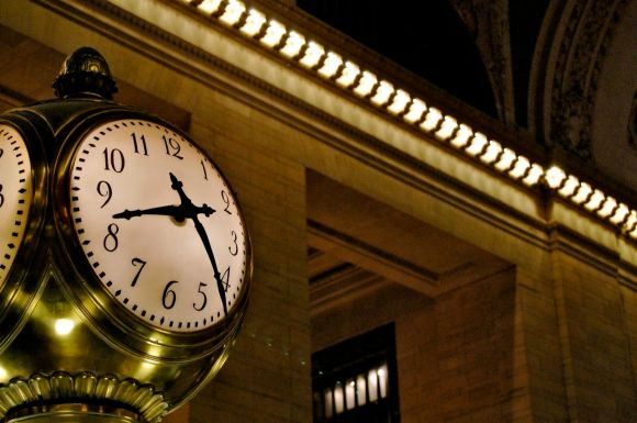 Grand Central Station's Center Concourse Clock