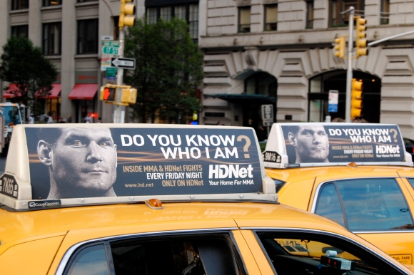 MMA ads for HDNet.